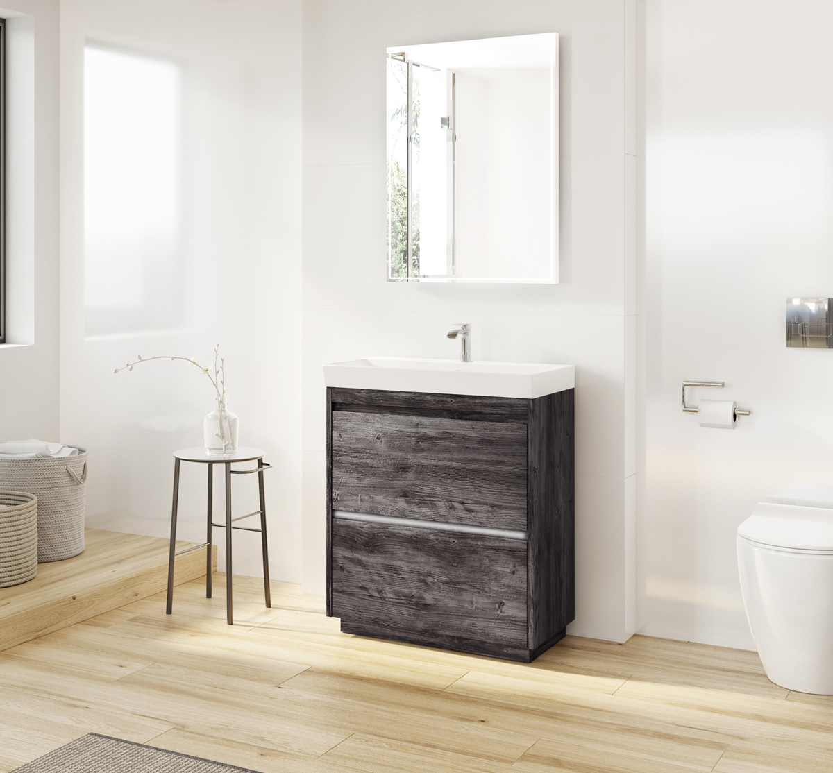 Zion 70 floor standing unit basin in zion luxury for Modern zion kitchen