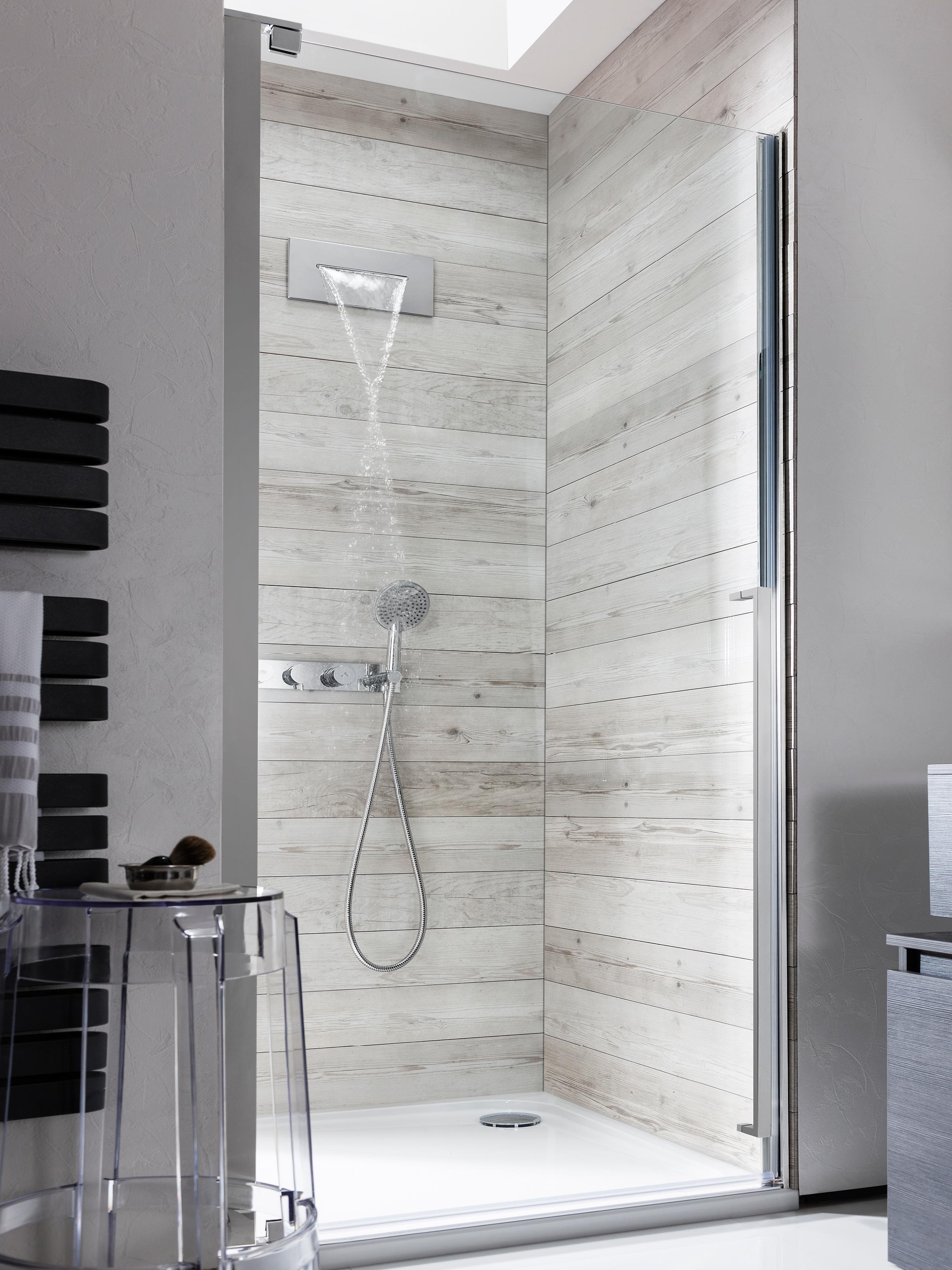 Fabulous Zest shower/bath waterfall filler in Wall Mounted | Luxury  PK03