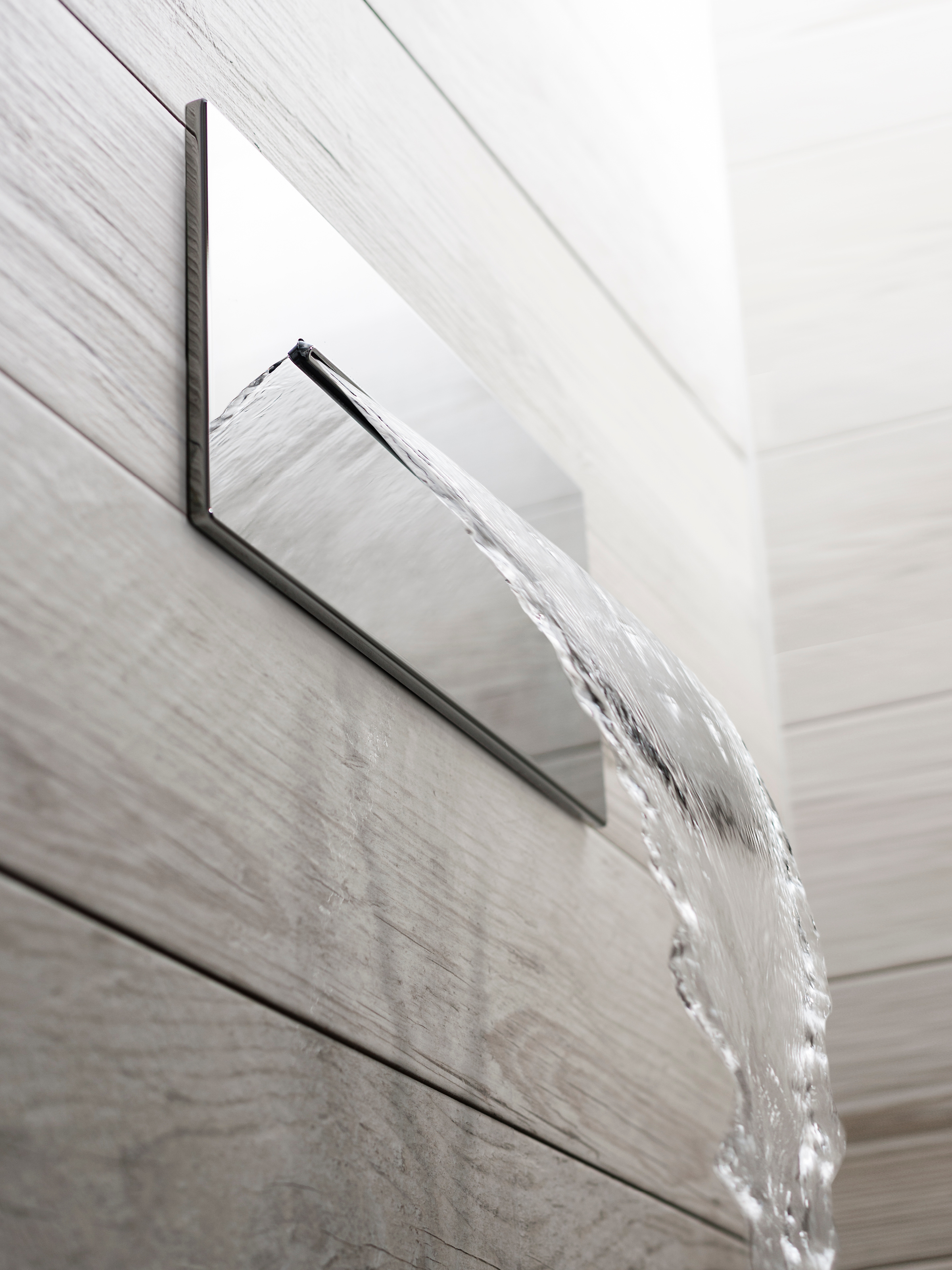 stainless ss head waterfall rain bathroom rainfall steel panels showering shower panel pl
